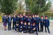 Практические занятия для юных казачат