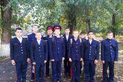 Казачья застава для юных казачат